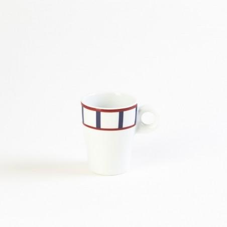assiette ronde plate vaisselle en porcelaine jaune bleue. Black Bedroom Furniture Sets. Home Design Ideas