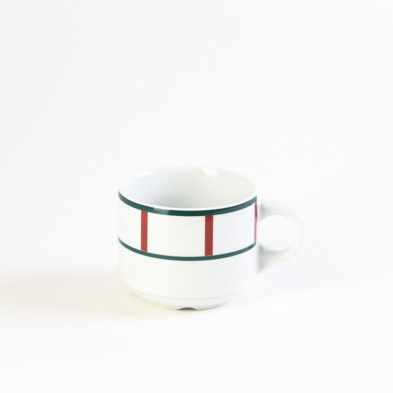 assiette basque steak ovale verte et rouge en porcelaine. Black Bedroom Furniture Sets. Home Design Ideas