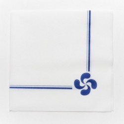 Serviettes en papier croix...