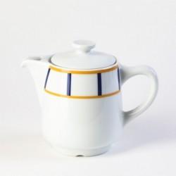 Cafetière basque jaune et...